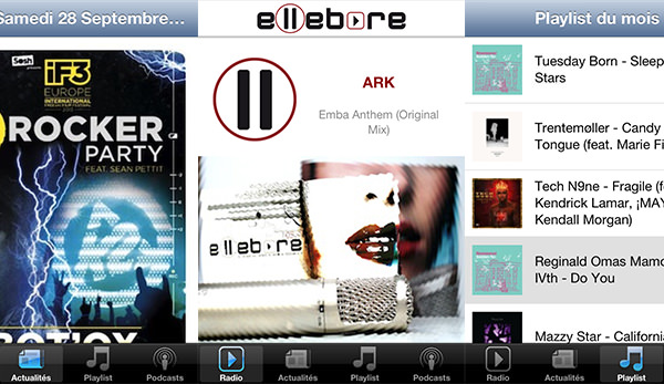 Ellebore sur iPhone et Android