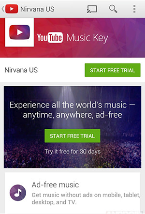 YouTube Music Key App